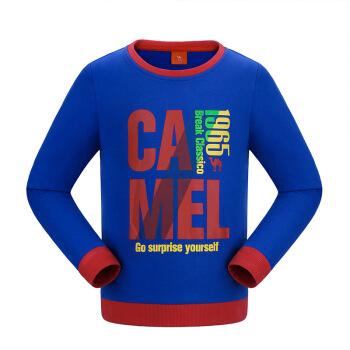 ラクダ(CAMEL)子供服男性用子供服カジュアルTシャツに厚手のTシャツをセットしたボブブルー120/60
