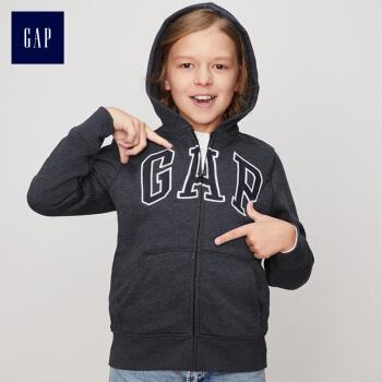 GAPフラッグシップ店の男の子の加絨の厚い衛衣のレインコートのシャツ366113大きい子供の子羊の絨の中の子供のコートのインディゴの青いS