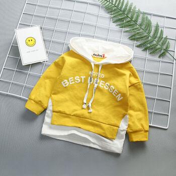 2019年新年モデル子供服幼児男女子供服子供服全綿レインコートアルファベット100色身長85-95を提案します。