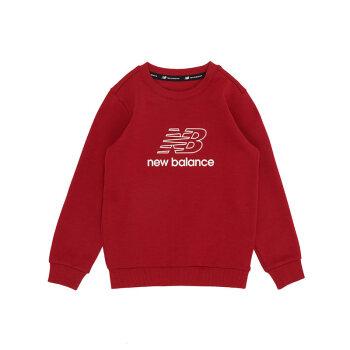 New Balance nb衛衣男女4~14歳の子供服7 C 84 S 053 7 C 84 S/中国紅140 cm