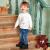 精典泰迪Classic Teddy童装儿童卫衣男童套头上衣外套外出服 卫衣A 泰迪熊-白色 120