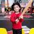 【101-130】ANTA子供服男性子供服カバートップシャツ2019春新型子供服子供服優雅赤-3 120 cm