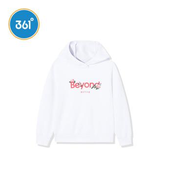 361°361度の子供服の子供服の子供服のカジュアルベルトキャップ付き長袖カバースポーツカジュアル服N 61933351本の白150