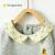 子供の泰春秋の外出服の1-3歳の男女の赤ちゃんは上着の子供の長袖のガーゼの灰色の黄色の格の90 cmを襟を折ります