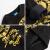 トーマス子供服2019新型冬服子供の中で大童カジュアル保温丸襟上着男性童衛服黒140 cm