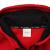 LI-NINGオフィシャル旗艦店2019新品男性大童スポーツファッションシリーズカーディガンラインカーディガンセットYWEN 021牡牛レッド標準黒170