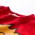心の倍の子供服の男性の子供服のカシミヤのカーディガンの秋の服2018新型の小中学生はカシミアの上着の1-10歳の子供服の頭をつかんで底のシャツの湿っているV 0461の大きい赤色の100 CMを打ちます。