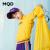 马骑顿MQD子供服男童児レンコートパーカー2020春新型中大子供服子供服子供服ファッション黒(160 cm)