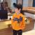 左西男童衛衣秋装2020新型子供服の中で、大童大文字はゆったり春秋韓国版オレンジ色で、約7-8歳のサイズは130サイズです。
