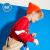 361°男性用子供服ヘッドガードの中の大子供は2020年カジュアル丸襟カバーのトップコートZYN 52013303活力赤/3301
