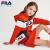 FILA FILA FILA FILA FILAフェロモン子供服女性用秋装衛スカート2020年モデル新品子供大童洋気レインカートワンピース蔵青-NV 160 cm