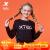 特歩子供服の女性用ヘッドカバー2020年秋の女性用ニットカジュアル上着の女性用上着6803242424242424926黒140