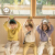 papa爬子供服秋冬子供服ハーフタートルネック服男女赤ちゃんラズル押染服ベビーセーター0-5歳紫100 cm